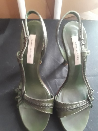 Marc by Marc Jacobs Olive green Pumps Image 8