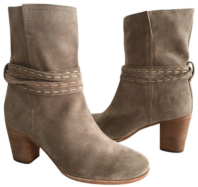Item - Ash Soft Oiled Womens Naomi Pickstitch Mid Suede Boots/Booties Size US 6.5 Regular (M, B)