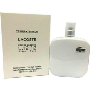 Lacoste EAU DE LACOSTE L.12.12. BLANC FOR MEN-EDT-100 ML-TESTER-UK