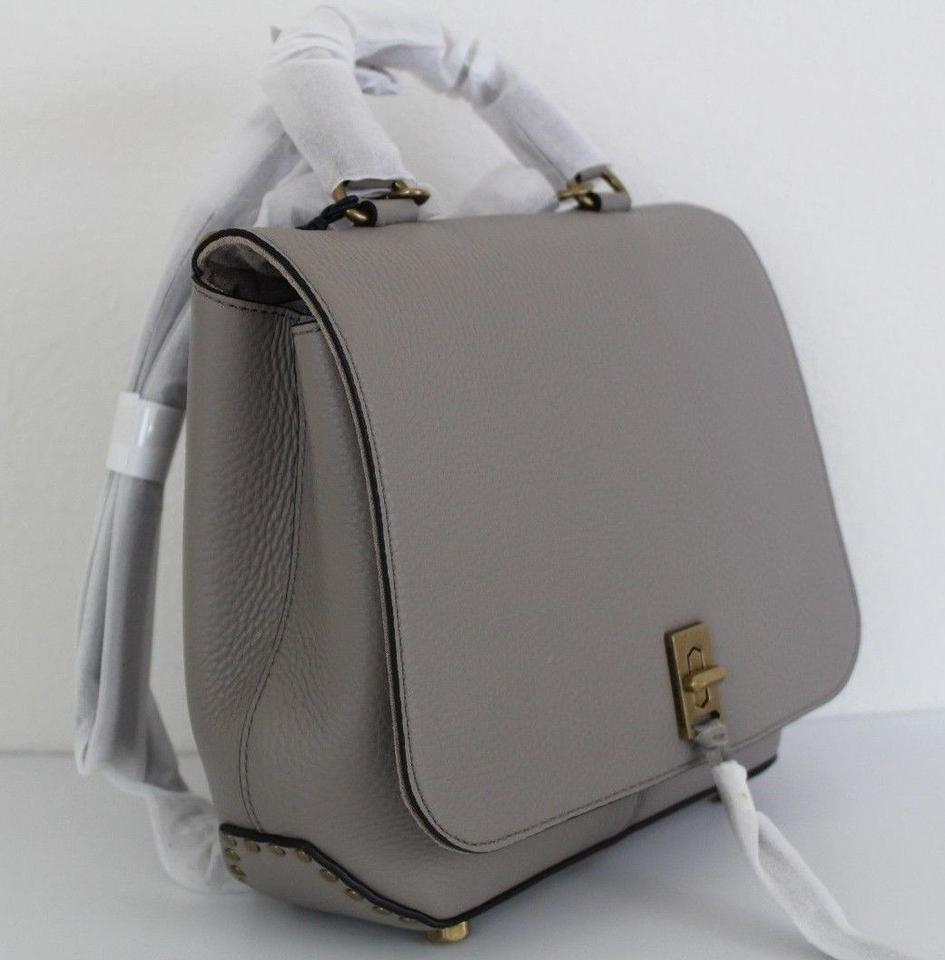 ee75d883d Rebecca Minkoff Medium Darren Convertible Taupe Leather Backpack ...
