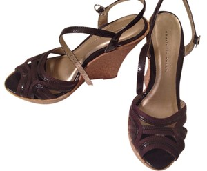 Charlotte Russe Chocolate Brown Platforms