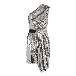 Carven Sequin Evening Date Night Night Out Dress