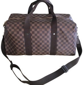 fa34786f18f8 Added to Shopping Bag. Louis Vuitton brown Travel Bag. Louis Vuitton  Beaubourg Duffle Rare ...