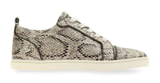 bf09b17a084b Christian Louboutin Gold Gondoliere Orlato Glitter Low Top Sneakers ...