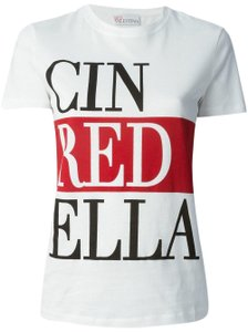 RED Valentino T Shirt White and Red