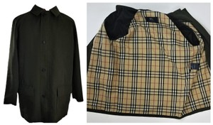 Burberry London Ships In 24 Hours Car Classic Check Nova Check Trench Coat