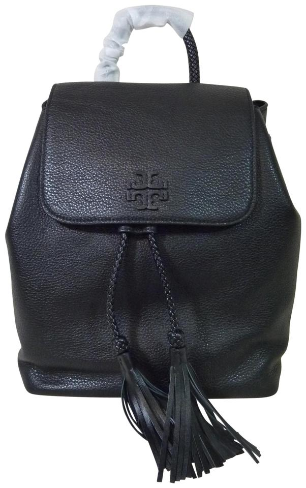 197fd92c6fc Tory Burch Taylor Black Leather Backpack - Tradesy
