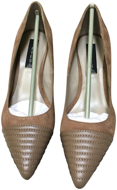 Item - Taupe P-caseey Suede Pumps Size US 8 Regular (M, B)
