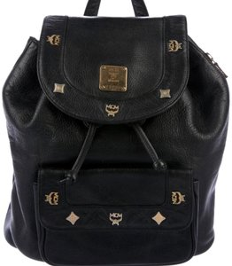 MCM Mini Leather Vintage Backpack