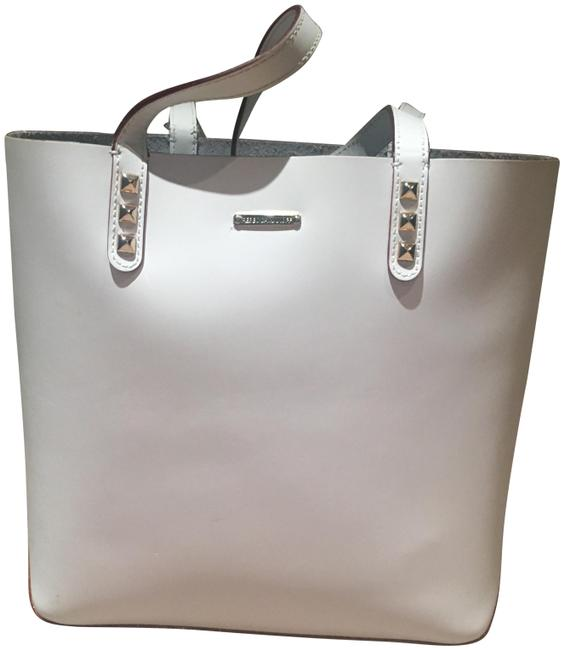 Item - Mini Dylan White Leather Tote