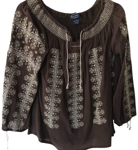Scoop NYC Top Brown
