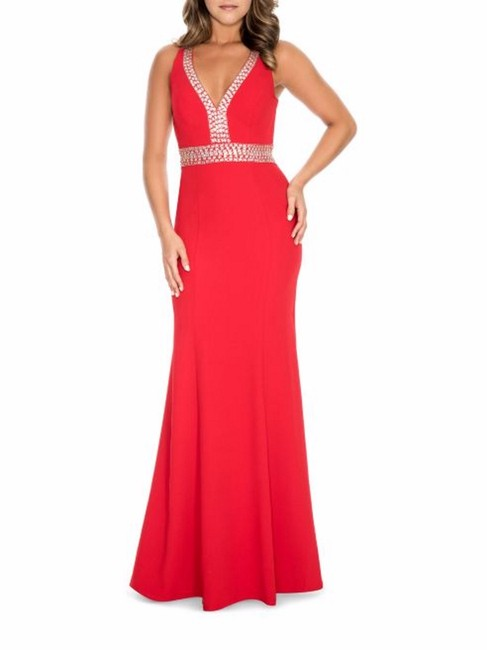 Preload https://img-static.tradesy.com/item/23129536/decode-18-red-beaded-open-back-long-formal-dress-size-6-s-0-0-650-650.jpg