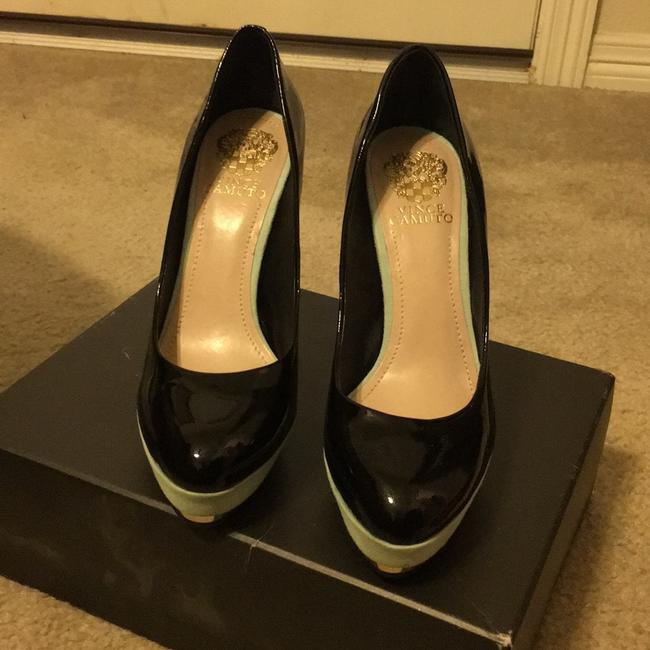 Vince Camuto Black and Blue Vc Dacoma Platforms Size US 8 Regular (M, B) Vince Camuto Black and Blue Vc Dacoma Platforms Size US 8 Regular (M, B) Image 2