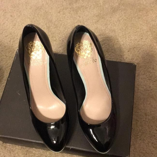 Vince Camuto Black and Blue Vc Dacoma Platforms Size US 8 Regular (M, B) Vince Camuto Black and Blue Vc Dacoma Platforms Size US 8 Regular (M, B) Image 3