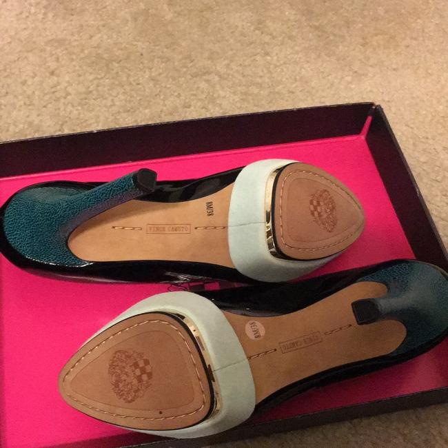 Vince Camuto Black and Blue Vc Dacoma Platforms Size US 8 Regular (M, B) Vince Camuto Black and Blue Vc Dacoma Platforms Size US 8 Regular (M, B) Image 5