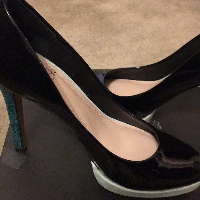 Vince Camuto Black and Blue Vc Dacoma Platforms Size US 8 Regular (M, B) Vince Camuto Black and Blue Vc Dacoma Platforms Size US 8 Regular (M, B) Image 7