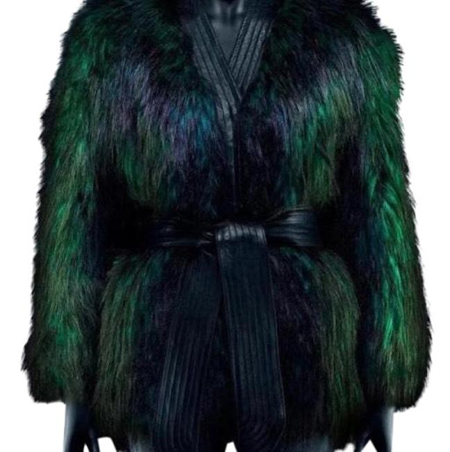 Item - Black/Green Luxe 4us/34eu Coat Size 4 (S)