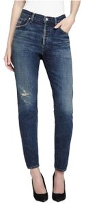 Citizens of Humanity Capri/Cropped Denim-Distressed