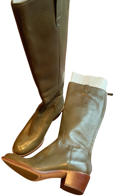 Item - Olive Green Never Worn Wesley Boots/Booties Size US 6 Regular (M, B)