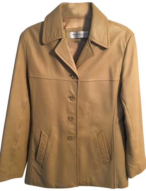 Item - Tan New York Collection Jacket Size 6 (S)