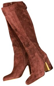 c39e4e9d2a7 Red Franco Sarto Boots   Booties - Up to 90% off at Tradesy
