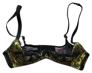 Agent Provocateur Top Black and mustard