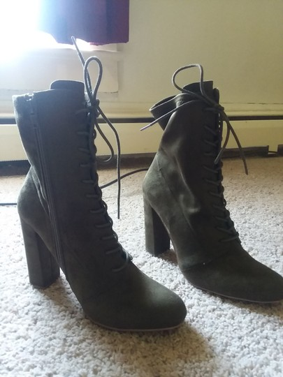 2753d365e71 Olive Green Boots/Booties