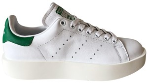 adidas Leather Classic white & green Athletic