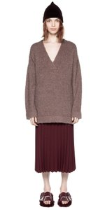 Dion Lee Boucle Shearling Wool Mohair Sweater