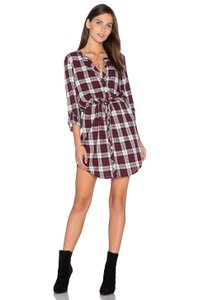 Soft Joie short dress Deep Garnet on Tradesy