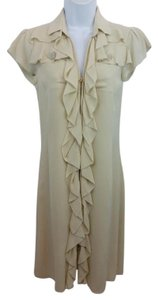 Valentino short dress Beige on Tradesy