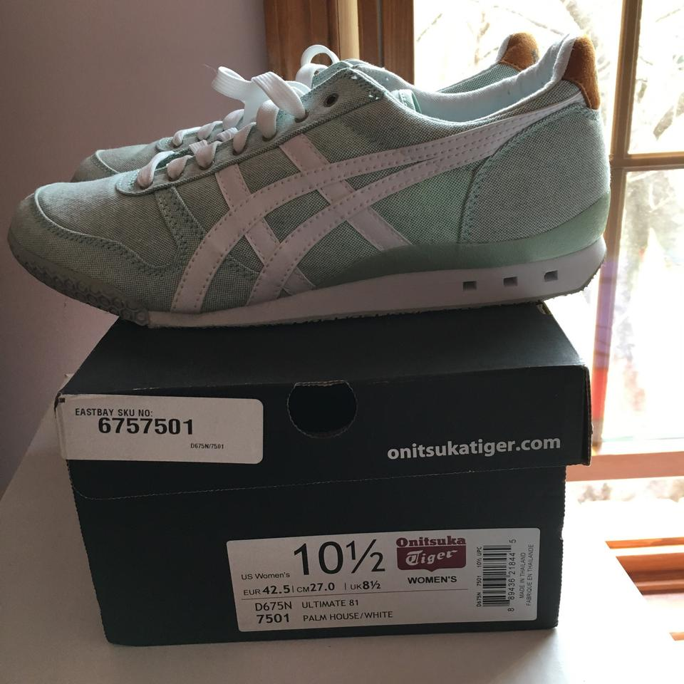 a06fb0f379e Onitsuka Tiger Palm House/White Ultimate 81 Sneakers Size US 10.5 Regular  (M, B) 22% off retail