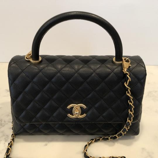 To acquire Calfskin chanel shopping bag with door latch pictures trends