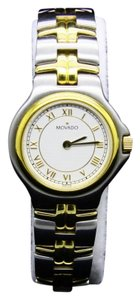 Movado MOVADO 2TONE 81.A1.827.2 Swiss made Stainless Steel White dial Watch