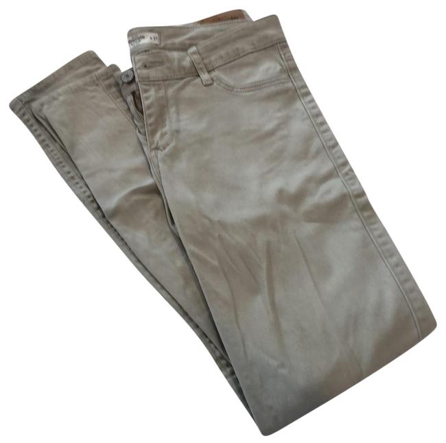 Item - Cream Beige Taupe Light Wash A&f Skinny Jeans Size 4 (S, 27)