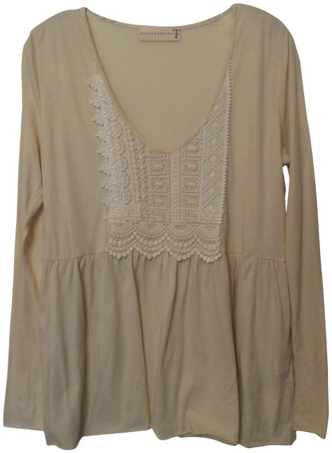 Item - Off-white For Johnny Was Oversized Long Knit Large Tunic Size 12 (L)