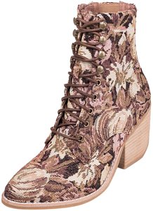 Jeffrey Campbell pink multi floral Boots