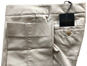 Brooks Brothers Spring Summer Preppy Casual Classic Khaki/Chino Pants Stone