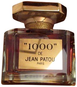 "Jean Patou Jean Patou Perfume ""1000"" Parfum 1 oz. Numbered Baccarat Bottle Ltd Ed"