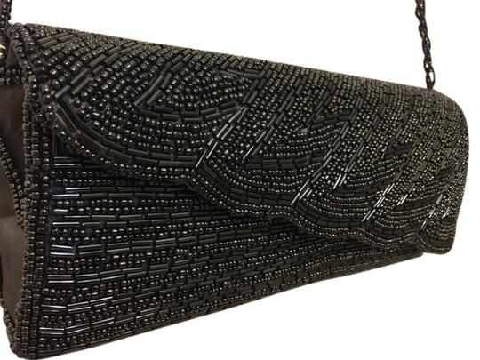 Bijoux Terner Black and Grey Clutch