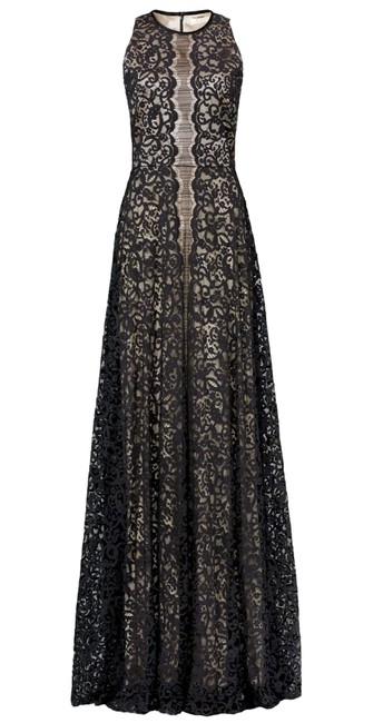 Preload https://img-static.tradesy.com/item/23133291/erin-fetherston-black-cream-anthropologie-maxi-lace-contrast-cocktail-cotton-ball-gown-long-formal-d-0-0-650-650.jpg