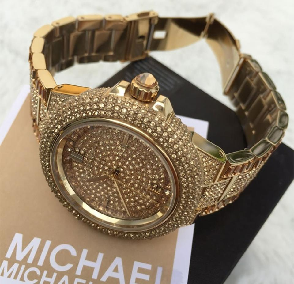 5cabf8a3555e ... New In Box Michael Kors Women s Camille Gold-Tone Watch MK5720. 123456