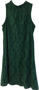 Paper Crane short dress Forest Green Lace on Tradesy