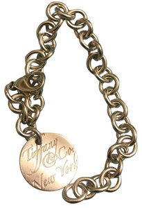Tiffany & Co. round tag Tiffany Bracelet