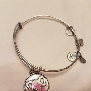 Alex and Ani Elephant Charm Bracelet