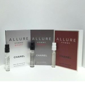 Chanel SET OF 3 CHANEL SPRAY VIAL (MINI) FOR MEN