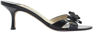 Jimmy Choo Heel 38 Black Sandals
