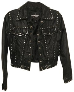 Wilsons Leather Studded Leather Jacket