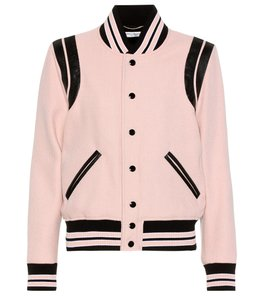 Saint Laurent PINK Leather Jacket