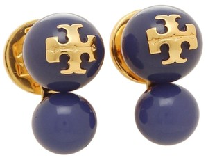 Tory Burch Tory Burch Evie Double Crystal Pearl Stud Earrings